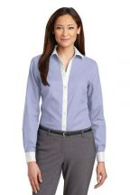 Red House® Ladies Non-Iron Diamond Dobby Shirt