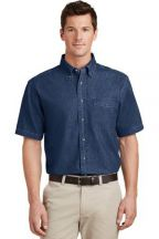 Port & Company® - Short Sleeve Value Denim Shirt
