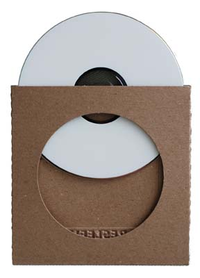 EcoEFX Recycled Bending Chipboard Sleeve CD Holder