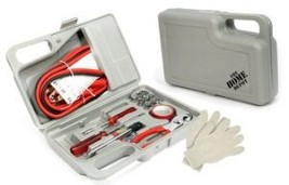30 Piece Complete Emergency Road Side Tool Kit in Case
