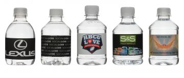 8 Oz. Custom Label Bottled Water